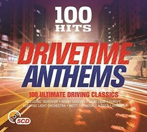Various Artists - 100 Hits: Drivetime Anthems / Various [New CD] Boxed Set, UK -