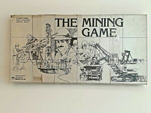 The Mining Game  A Family Board Game 1983 Made In Australia by Murfett