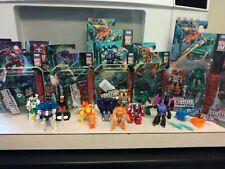 Transformers Micro Bots Earthrise & Siege Lot