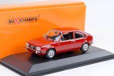 1972 Alfa Romeo Alfasud  rot 1:43 Maxichamps / Minichamps