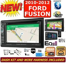 2010-12 FORD FUSION GPS NAVIGATION SYSTEM USB BLUETOOTH CD/DVD CAR RADIO STEREO