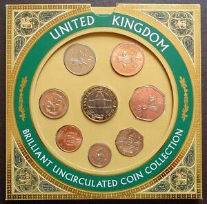 1999 Royal Mint Brilliant UNC BUNC Coin Year Set