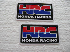 Autocollant Sticker 2er Set Honda Racing Tuning Sport Automobile Biker moto HRC