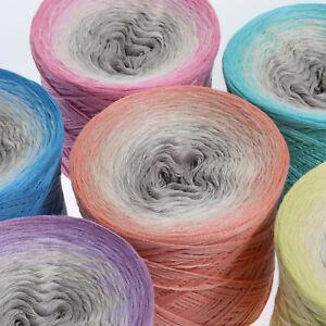 (7,00€/100g) LiLus Bobbel Nest Bobbel 200g - 1000m 3Fach Farbe wählbar