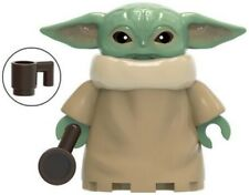 Star Wars Mandalorian Baby Yoda Child Rare Custom Lego Mini Figure Action Figure