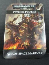 jaiz Warhammer 40k Psychic Powers Chaos Space Marines OOP