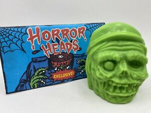 Retroband Deadly Delivery Horror Heads Mr. Deadly Green