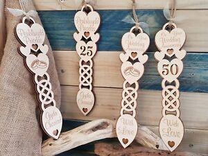 Anniversary Wood Lovespoon