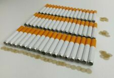 50-Pack One Hitter Bats, 2 Inch Pipes +100 Pipe Screens/Chillum Smoking Filters