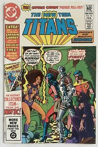 New Teen Titans No. 16 (DC, 1982) VF/NM 1st Captain Carrot! Wolfman, Perez