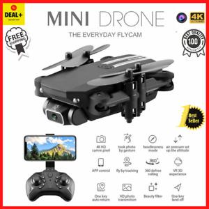 Mini Drone Nueva cámara 4K 1080P HD WiFi Fpv Presión de aire Altitud...