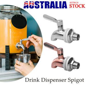 Stainless Steel Beverage Drink Water Dispenser Drink Wine Barrel Spigot/Faucet