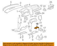GM OEM Instrument Panel Dash-Track 15119265