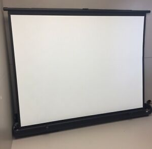 """Road Warrior Draper Self Contained Video Projection Screen 48"""" Wide"""