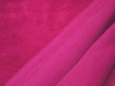 Kuschelsweat uni pink 0,5m