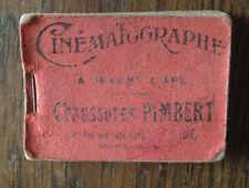 ancien petit livre  Cinématographie à  Jeanne d'arc : SAUTE MOUTON