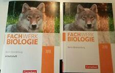 Fachwerk Biologie 7/8 Lehrbuch&Arbeitsheft '21 Cornelsen --BRANDNEUES-SET--