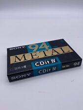 Sony, 94 Metal, CDitlV, Casette