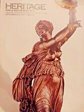 Heritage Fine Decorative Arts 2017 statue of Oz Ceramic Auction Catalog