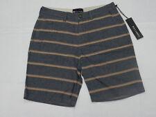 Billabong Men Walkshorts sz 32 Chive Stripe Navy
