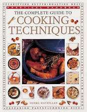 Very Good, The Complete Guide to Cooking Techniques (Practical Handbook), MacMil