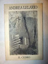 Libro Belle Arti Mostra Catalogo - Andrea Lelario: INCISIONI 1993 Il Cedro