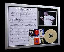 PHIL COLLINS I Don't Care Anymore QUALITY CD FRAMED DISPLAY-EXPRESS GLOBAL SHIP!