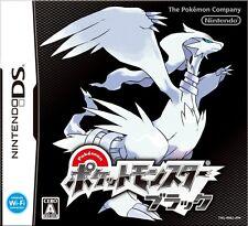 USED GAME Pokemon Black Japanese version Pocket Monsters Black Nintendo DS