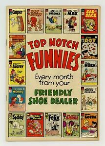 Top Notch Funnies Shoe Giveaway #SPOOKY#31 VG+ 4.5 1959