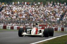 Gerhard Berger McLaren MP4/7A F1 Stagione 1992 foto 5