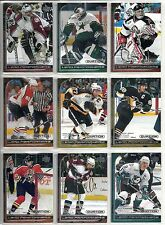 1999-00 UD Ovation 30-card Lead Performers Hockey Lot   Patrick Roy  Ray Bourque