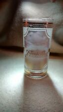 Elvis Presley Graceland Glass Frosted 24 Carat Gold Trim