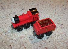Thomas Train Wooden James Wood Car Set, 1994, Oddball Transition Set 1993