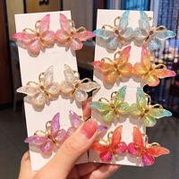 Women Girls Cute Butterfly Hairpins Barrettes Hair Clips Hair Accessories