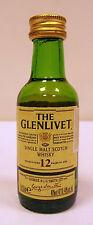 Miniature Scotch Whisky THE GLENLIVET 12yo