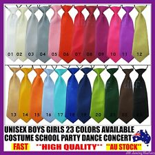 BOYS KIDS CHILDREN NECK TIE NECKTIE TIES ELASTIC TIE WEDDING PARTY DANCE SCHOOL