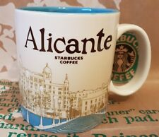 Starbucks Coffee Mug/Tasse/Becher ALICANTE/Spain, Global Icon, NEU mit Sticker!!
