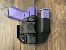 FOR Glock 43XIWB combo holster w/ magazine caddie (FITS G43X)