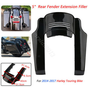 """5"""" inch Rear Fender Mudguard Extension Stretched Filler For Harley Touring Glide"""