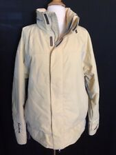 Womens Section Snowboard Coat SIZE MEDIUM Pale Yellow Blue Winter Ski Vented
