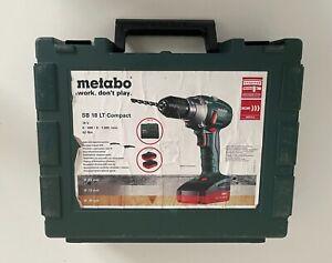 Metabo SB 18 LT COMPACT 18V 2 x Akku  im Koffer Akku-Bohrschrauber