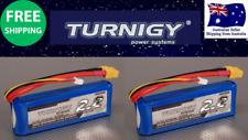 Turnigy 2200mAh 2S 30C 7.4v Lipo Pack XT60 JST Battery RC Plane Car Boat 2 Pack
