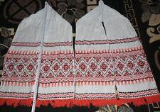 Original handgemacht Ruschnik Handtuch Tischedekoration Ostern Hochzeit 2 St.