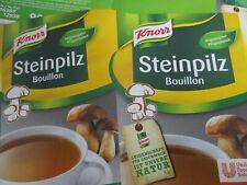 KNORR Steinpilz Bouillon 1 Kilo Dose für 50 Liter