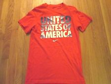 NIKE UNITED STATES OF AMERICA SLIM FIT T-SHIRT SIZE S