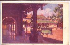 CP Vietnam - Hué - La cour des lais dans le palais du roi