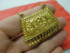 Solid 22K GOLD EXQUISITE INDIAN ASIAN NECKLACE 27.5 GRAMM