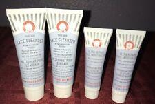 4X First Aid Beauty FAB Ultra Repair Face Moisturizer & Face Cleanser Travel Lot