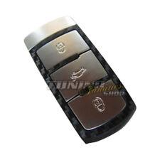 Schlüssel Carbon Design Dekor Folie Aufkleber WEISS VW Passat 3C B6 B7 + CC