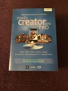 Brand New Roxio Creator Pro 2010 Software
